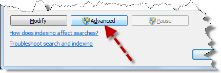 IndexingOptionsAdvanced