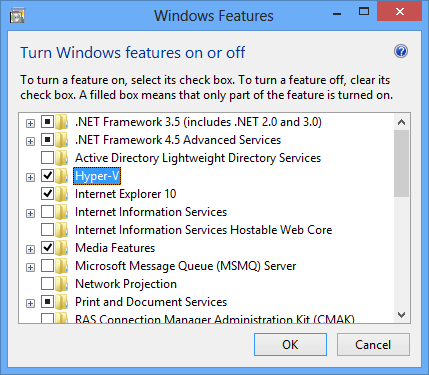 WindowsFeatureEnableHyperV